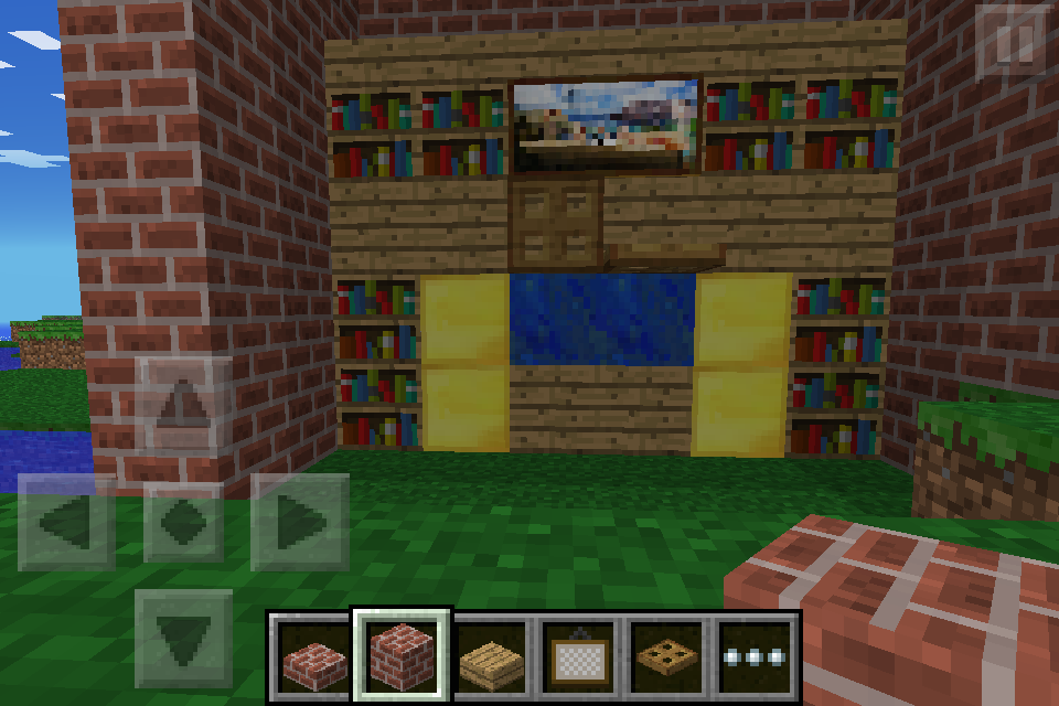 Deluxe Tv Aquarium And Bookshelf Set