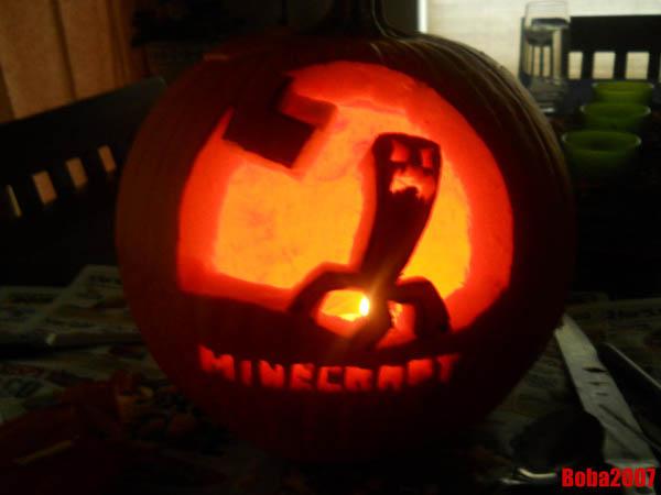 Guidecraft halloween pumpkins minecraft style
