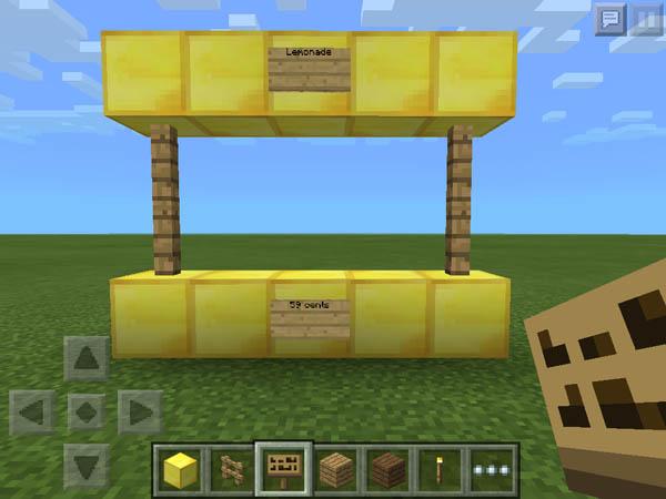 Guidecraft make a lemonade stand mcpe for Build a lemonade stand